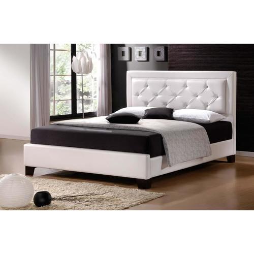 Rawson Amp Co Italian Design Mona Faux Leather Bed Frame