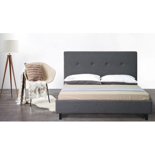 Rawson & Co Grey Bayard Wooden Bed Frame