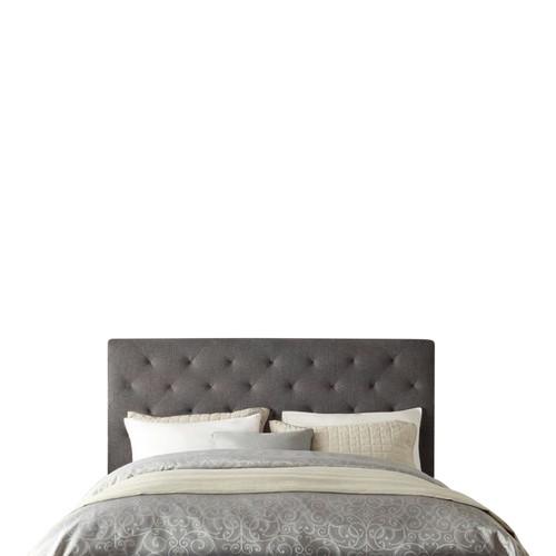 Rawson & Co Grey Oxford Wood Bedhead