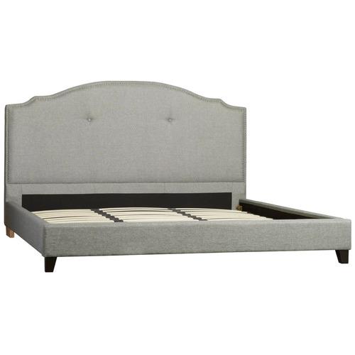 Rawson & Co Grey Portland Bed Frame