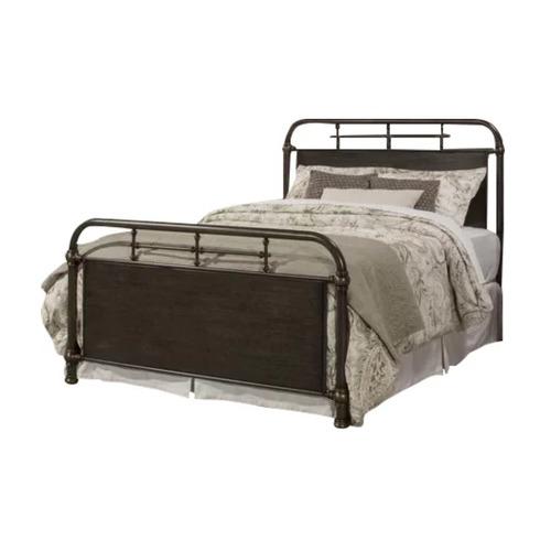Rawson & Co Rustic Brown Kingston Metal Bed Frame