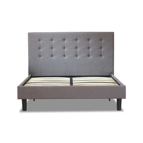 Rawson & Co Grey Wiltshire Upholstered Bed Frame