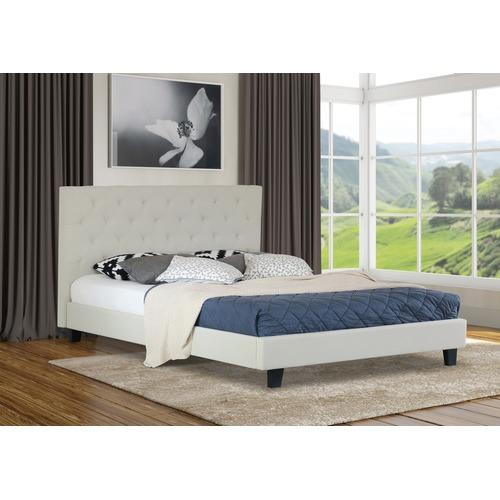 Rawson & Co Light Beige Oxford Wooden Bed