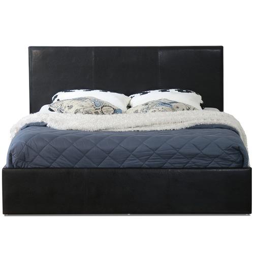 Rawson & Co Naples Design PU Gas Lift Bed Frame