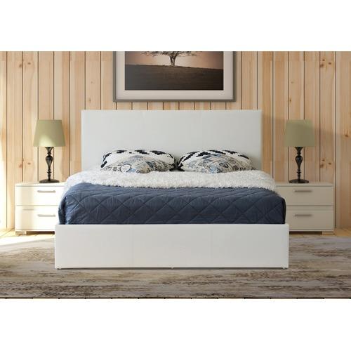 70214799eb4 Rawson   Co Naples Design PU Gas Lift Bed Frame   Reviews