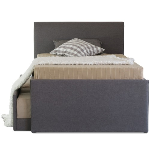 Rawson & Co Grey King Single Hazel Trundle Bed