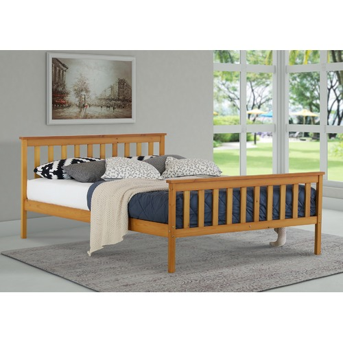 Rawson & Co Natural Atlantis Pine Wood Bed Frame