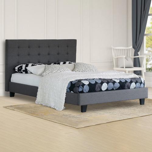 Rawson & Co Grey Kylie Upholstered Bed Frame