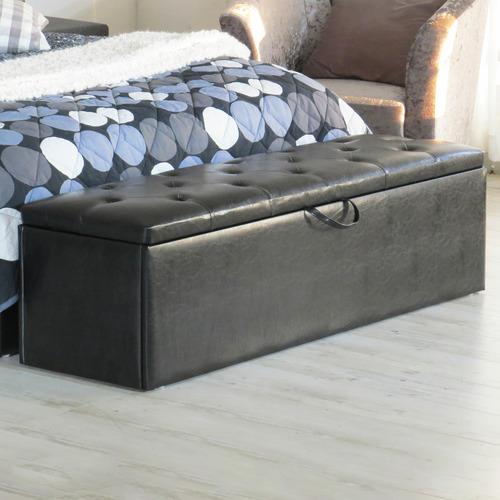 Rawson & Co Chester Faux Leather Storage Ottoman