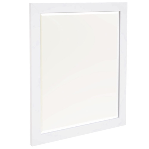 Dodicci White Brittany Bedroom Mirror