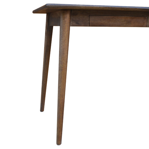 Dodicci Dark Timber Retro Mango Wood Writing Desk