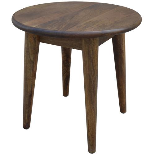 Dodicci Round Retro Wooden Side Table