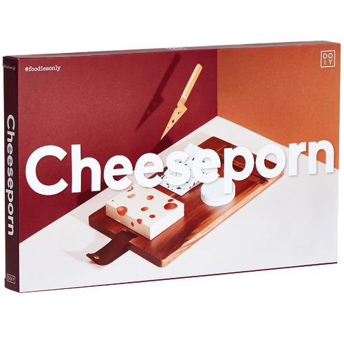 doiy 3 Piece Cheeseporn Cheese Board & Knife Set