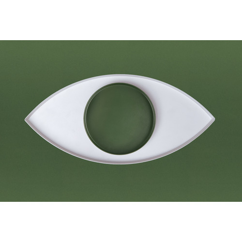 doiy 2 Piece The Eye Metal Accessories Tray