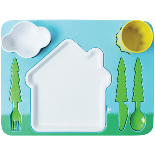doiy 7 Piece Landscape Kids' Dinner Set