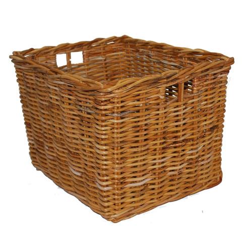 Cane Design Deep Storage Basket