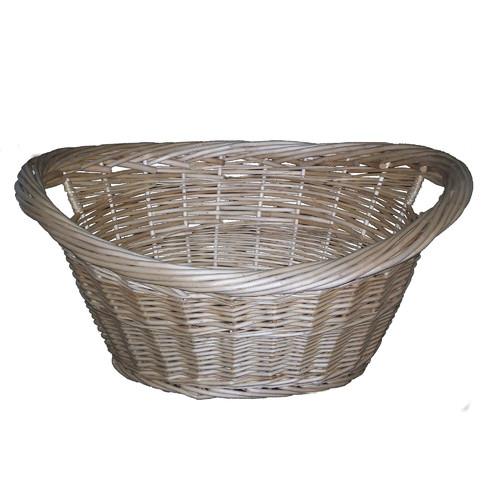 Cane Design Willow Washing Basket