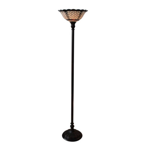 Geometric uplight floor lamp temple webster tiffany emporium geometric uplight floor lamp aloadofball Image collections