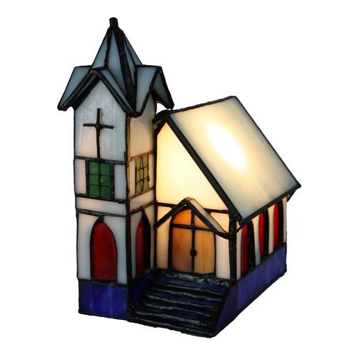 Tiffany Emporium Church Light House Table L&  sc 1 st  Temple u0026 Webster & Tiffany Emporium Church Light House Table Lamp u0026 Reviews | Temple ...
