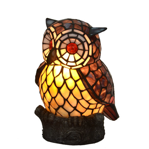 Tiffany Emporium Leadlight Owl Lamp Amp Reviews Temple
