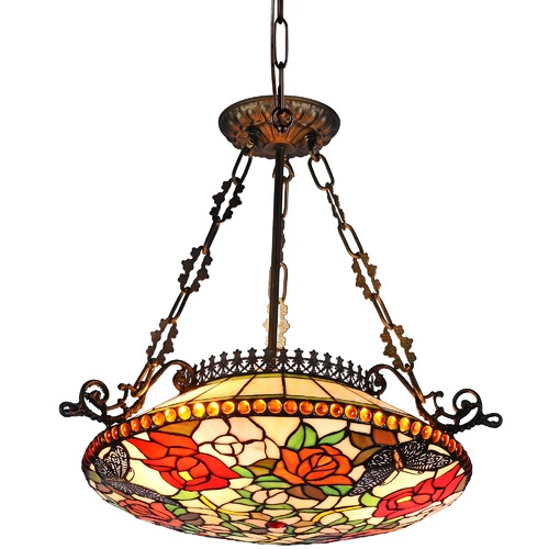 Tiffany Emporium Butterfly Kensington Pendant Light