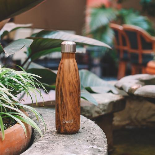 S'Well Brown Wood 500ml Water Bottle