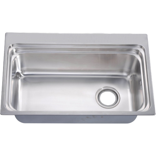 Rectangular Deep Single Bowl Kitchen Sink with Multiple Accessories ...