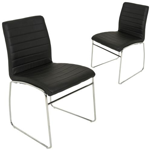 Enjoyable Coogee Sleigh Dining Chair Set Of 4 Spiritservingveterans Wood Chair Design Ideas Spiritservingveteransorg