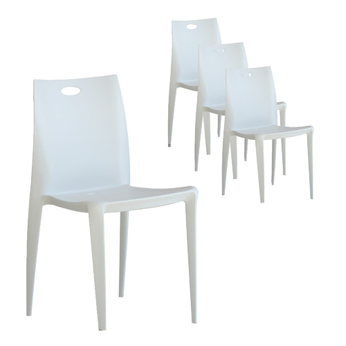 By Designs Lawton Stackable Outdoor Dining Chairs