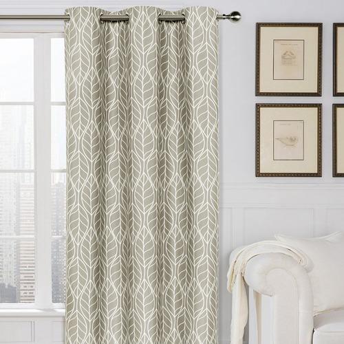 Home Living Hawaii Single Panel Eyelet Curtain
