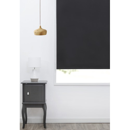 Home Living Black Basic Roller Blind