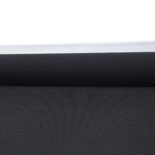 Black Sunshade Roller Blind