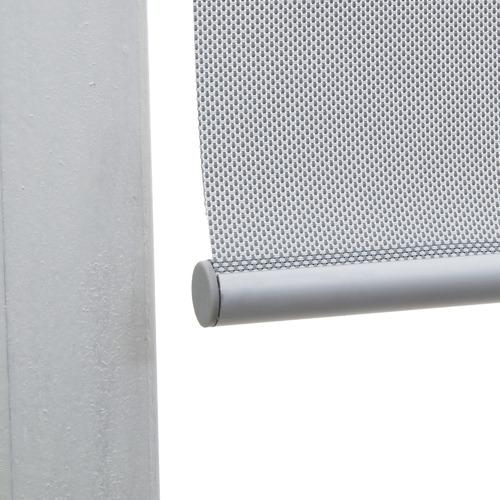 Grey Sunshade Roller Blind