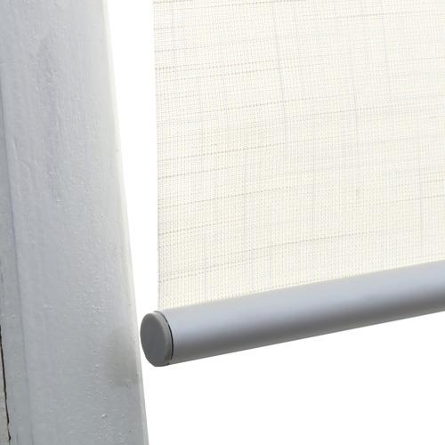 Natural Faux Linen Roller Blind