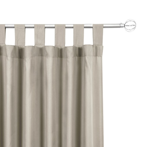 Home Living Morgan Single Panel Tab Top Curtain