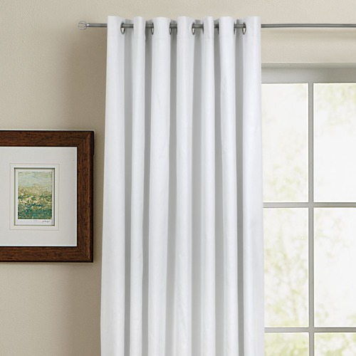 Home Living Rock Single Panel Eyelet Curtain