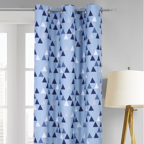 Home Living Teepee Single Panel Eyelet Curtain