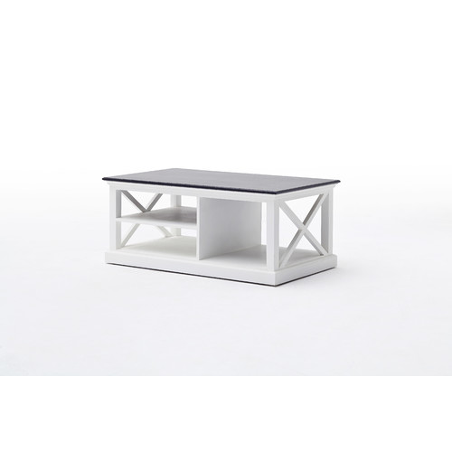 Coastal Coffee Table In White Temple Webster