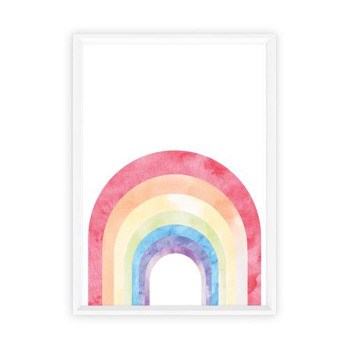 Almond Tree Designs Over The Rainbow Framed Print
