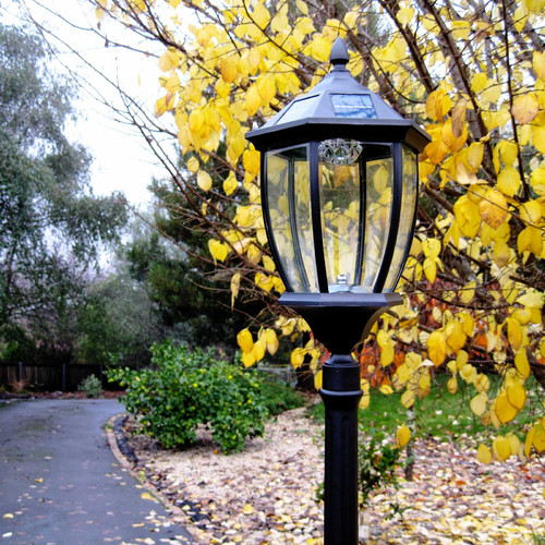 Lexington Home Solar Lamp Post