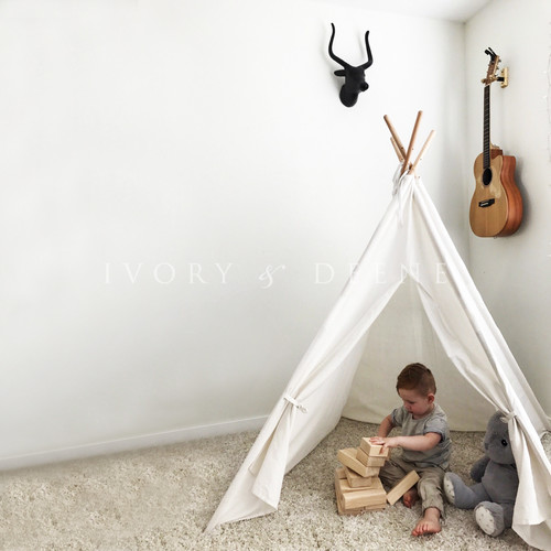 Lexington Home Tee Pee Natural Tent