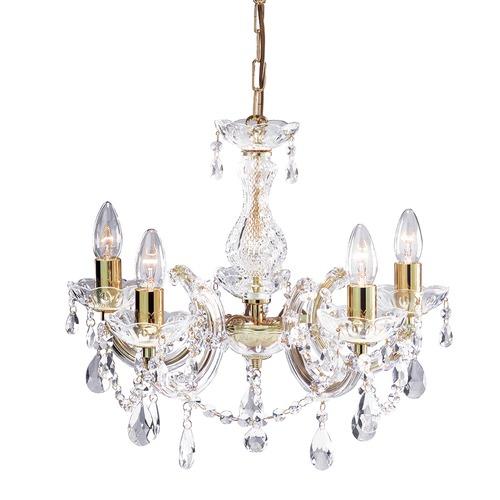 Grace 5 light ornate chandelier temple webster lexington home collection grace 5 light ornate chandelier aloadofball Gallery