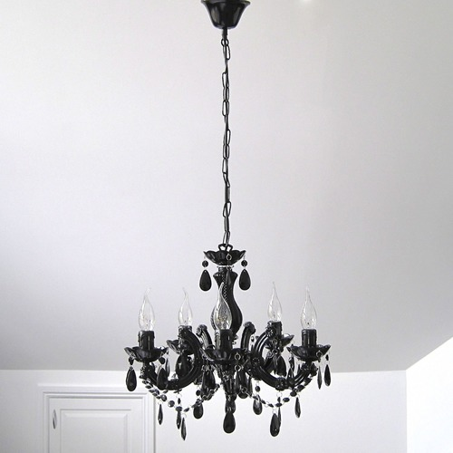 Grace marie therese 3 5 light chandelier black temple webster lexington home collection grace marie therese 3 5 light chandelier black mozeypictures Image collections