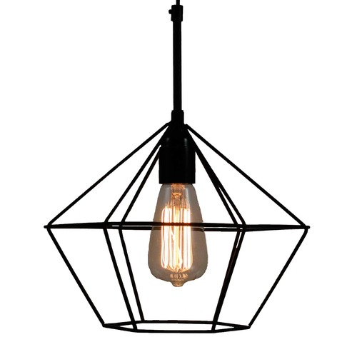 Black diamond wire cage pendant light temple webster lexington home collection black diamond wire cage pendant light keyboard keysfo Choice Image