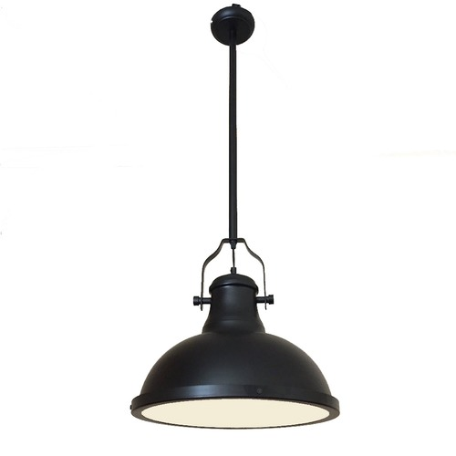 Lexington Home Amani Matte Black Pendant Light