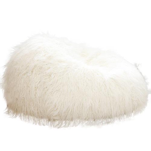 Shaggy Fur Bean Bag Cover