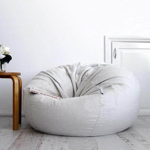 Stupendous Jacinta Large Velvet Faux Fur Beanbag Cover Squirreltailoven Fun Painted Chair Ideas Images Squirreltailovenorg