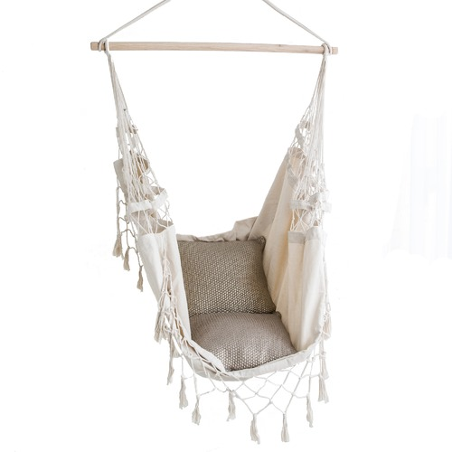 Lexington Home French Provincial Hanging Hammock Chair Cream