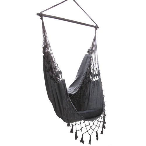 Lexington Home French Provincial Hanging Hammock Chair Charcoal