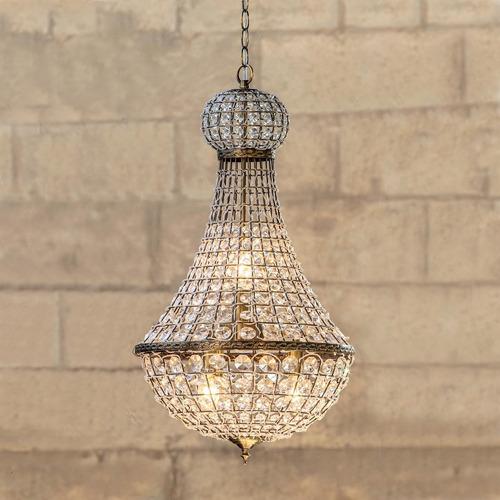 Lexington Home Elegant Palace Glass & Metal Chandelier